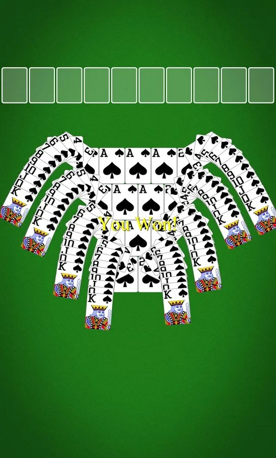 Solitaire spider / пасьянс паук v2. 5, ios 3. 0, eng.