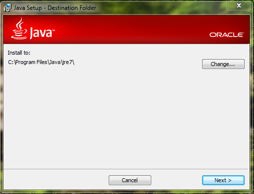 Installer For Java Programs