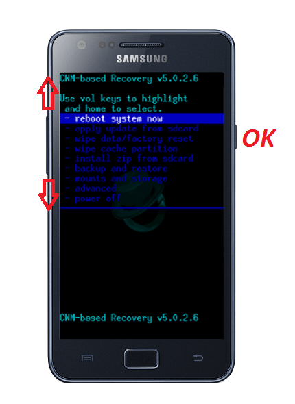 Android System Recovery 3E Инструкция