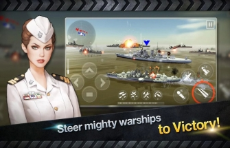 Warship Battle 3D World War