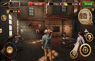 Игра West Gunfighter на Андроид