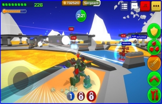 Игра Armored Squad: Mechs vs Robots на Android