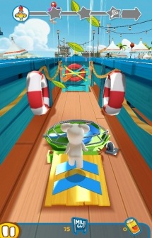 Игра Rabbids Crazy Rush для Андроид