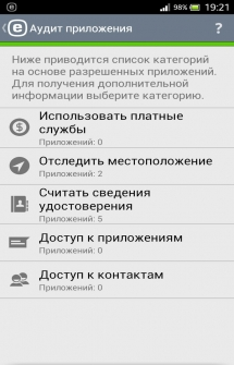 ESET Mobile Security антивирус для Андроид