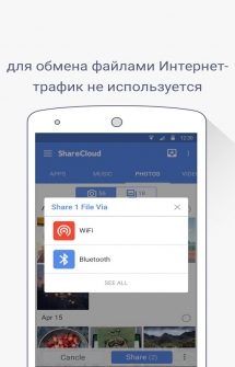 ShareCloud для Андроид