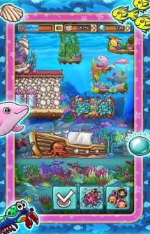 Игра Ocean Aquarium Pocket Island для Андроид