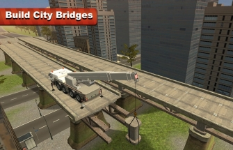 Bridge Construction Crane Sim на Андроид
