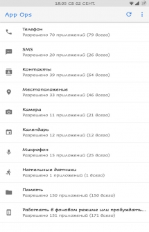 Permission Manager App Ops на Андроид