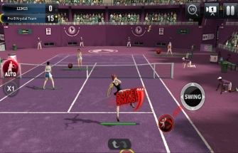 Игра Ultimate Tennis для Андроид