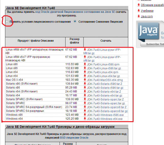 Установка Java Development Kit (JDK)