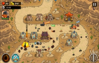Игра Kingdom Rush Frontiers на Андроид