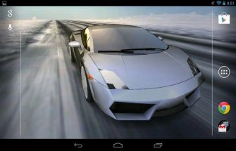 3D Car Live Wallpaper