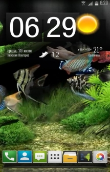 Lucky Fish Tank LiveWallpaper