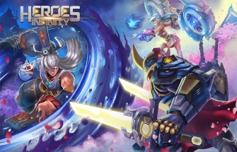 Heroes Infinity: God Warriors на Андроид
