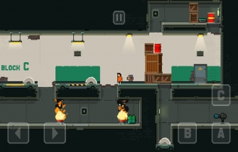 Игра Prison Run and Gun
