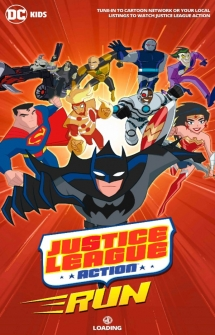 Игра Justice League Action Run на Андроид