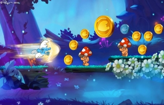 Игра Smurfs Epic Run для Андроид