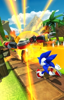 Игра Sonic Forces: Speed Battle на Андроид