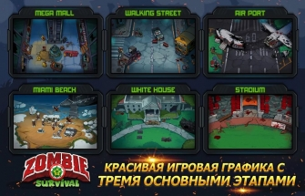Zombie Survival: Game of Dead на Андроид