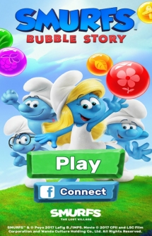 Smurfs Bubble Story на Андроид
