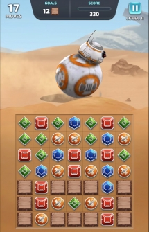 Игра Star Wars Puzzle Droids на Android