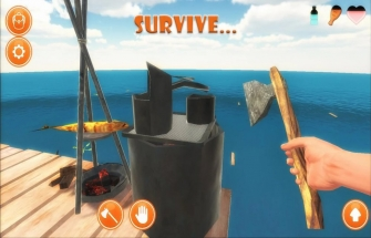 Игра Raft Survival Simulator на Андроид