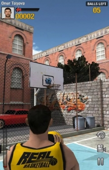 Игра Real Basketball на Андроид